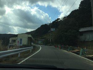 大野城への道のり